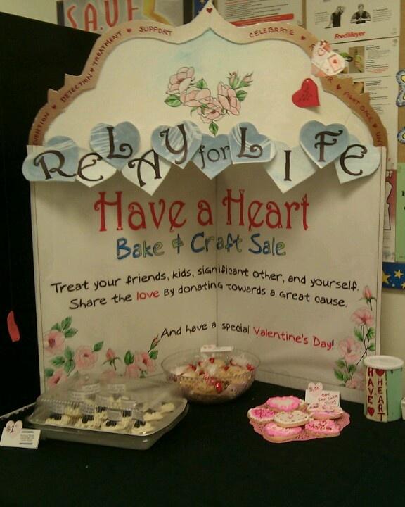Valentine Bake Sale Fundraiser