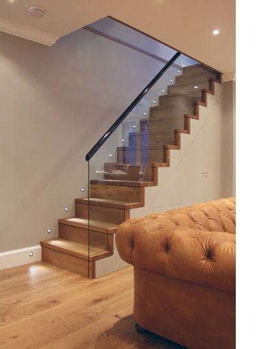 Glass banister may be an option if a new staircase need to be added
