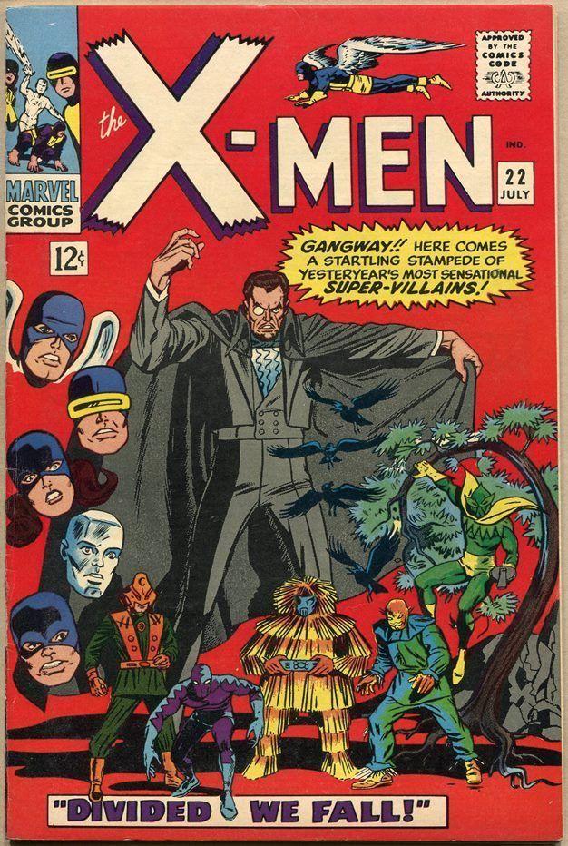 X Men 22 Fn Comics Marvel Comics Covers Silver Age Comics