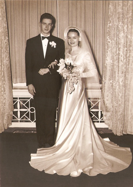 Put up pics of our family's weddings... Mom and dad, in-laws, sisters, brothers.  REM