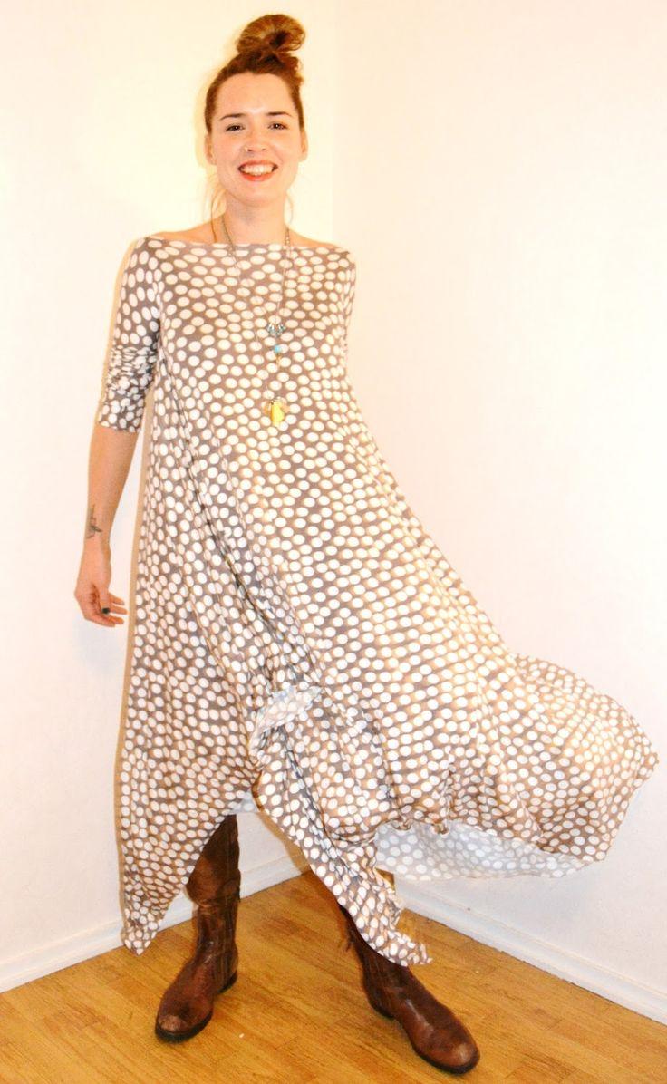 Tyrnifarmarit: Viidentoista minuutin Zero Waste mekko Tutoriaali