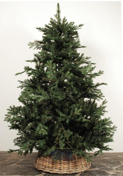 Christmas tree skirt basket
