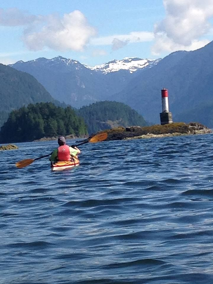 Coming out of Bedwell Bay and up Indian Arm