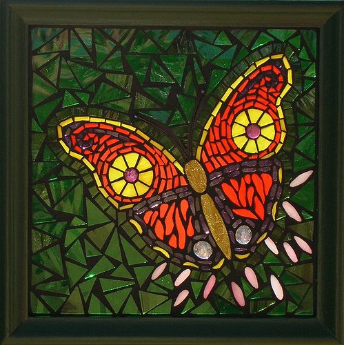 Butterfly Mosaic, via Flickr.