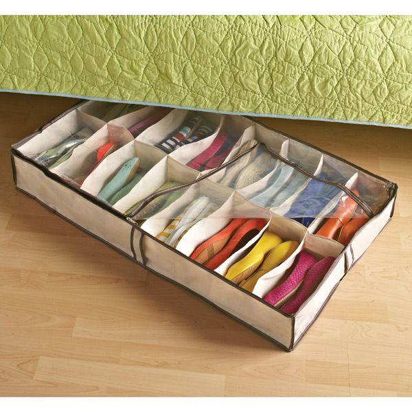 Shoe Organizer Under Bed