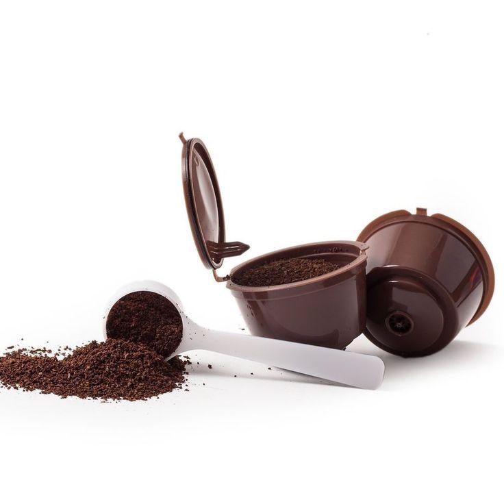 CAPSULAS RECARGABLES REUTILIZABLES RELLENABLES PARA CAFETERAS DOLCE GUSTO | Electroménager, Cafetières, expresso, Cafetières à dosettes/capsules | eBay!