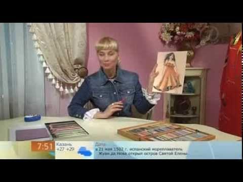 144 - Ольга Никишичева. Сарафан в пол из двух прямоугольников