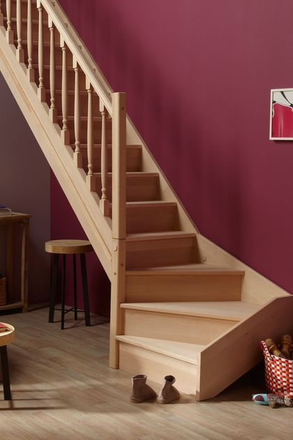 1000 id es sur le th me escalier quart tournant sur pinterest fabricant escalier escaliers et. Black Bedroom Furniture Sets. Home Design Ideas