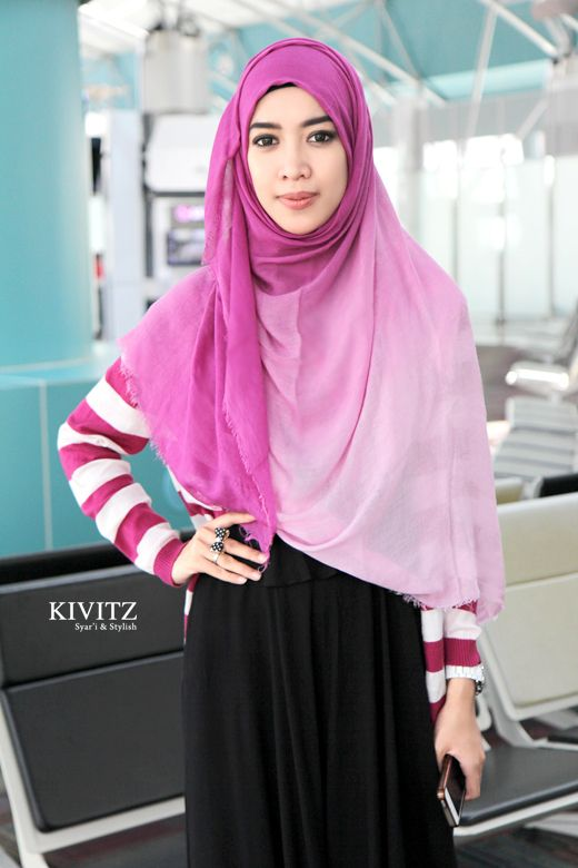 Kivitz Fitri Aulia Indonesia Hijab Fashion Pinterest