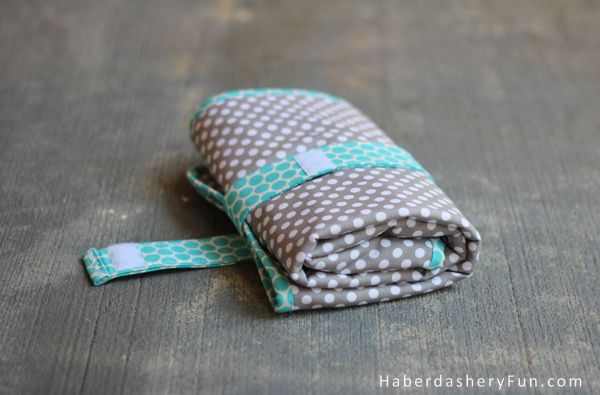 DIY.. On The Go Baby Changing Pad  ---  I think I would add a pocket for a diaper and maybe one for wipes.