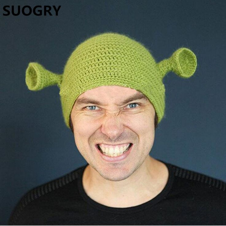 $8.65 (Buy here: https://alitems.com/g/1e8d114494ebda23ff8b16525dc3e8/?i=5&ulp=https%3A%2F%2Fwww.aliexpress.com%2Fitem%2FNovelty-Cute-Monster-Shrek-Beanies-Men-s-Women-s-Lovely-Hats-Funny-Animal-Caps-Birthday-Unique%2F32778275657.html ) Novelty Cute Monster Shrek Beanies Men's Women's Lovely Hats Funny Animal Caps Birthday Unique Gifts Handmade Warm Winter Gorros for just $8.65