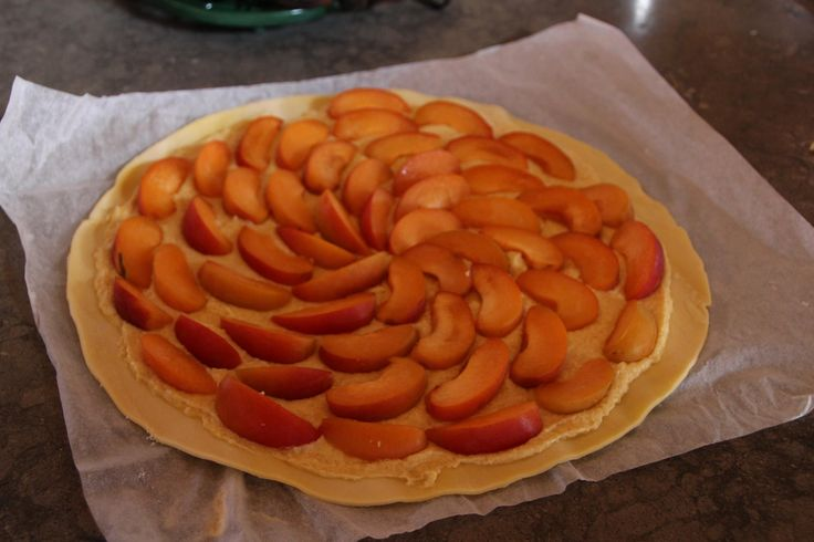 Apricot tart beautifully made by Rod