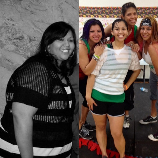 "#myzumbabody ""down 140 lbs :))  cant live without my zumba friends  workouts! (this was at our Cinco De Mayo Zumba Fiesta)""  *Results not typical and may vary subject to several factors including, but not limited to, diet, exercise frequency, and body composition."