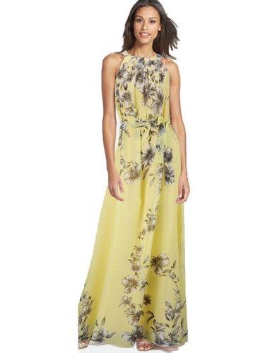 6dd5c3f9a43 Women Boho Floral Print Long Chiffon Dress Sleeveless Skirts Summer Beach  Sun Dress Gown Casual Plus Size Long