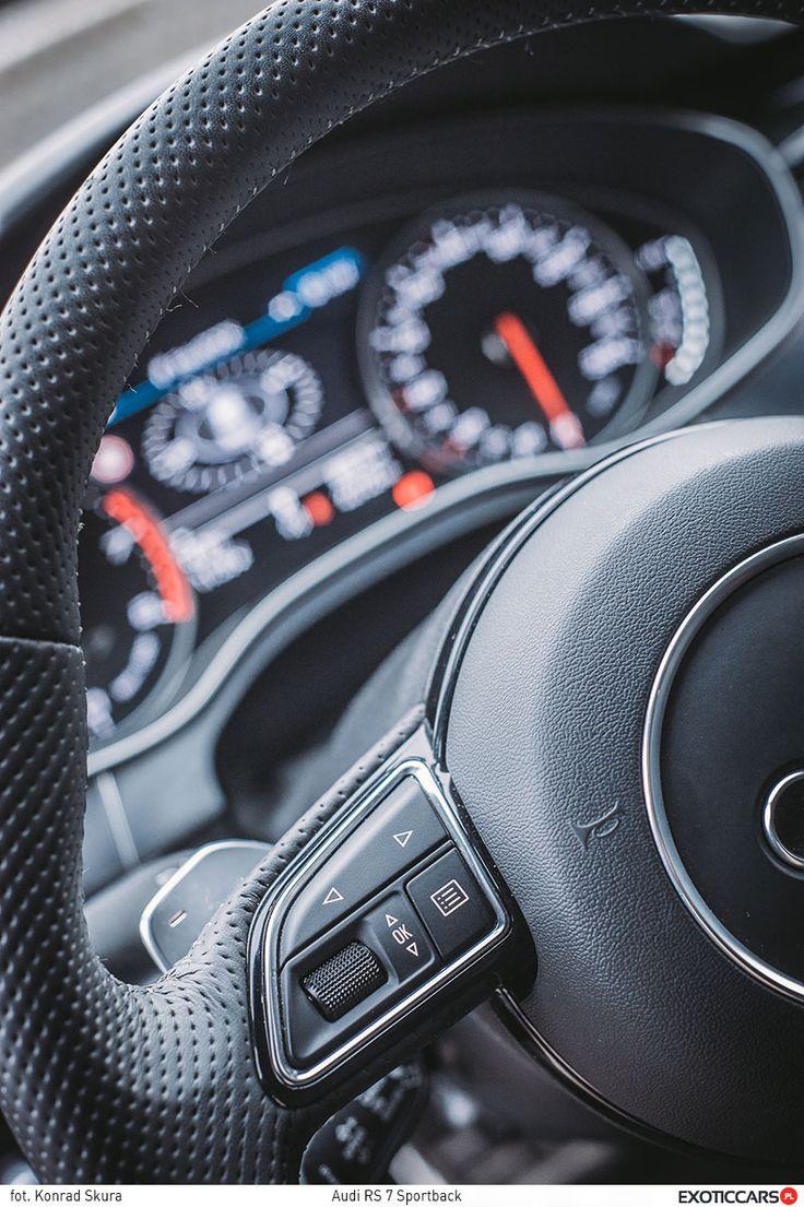 Audi RS7 http://exoticcars.pl/testy/audi-rs-7-sportback/