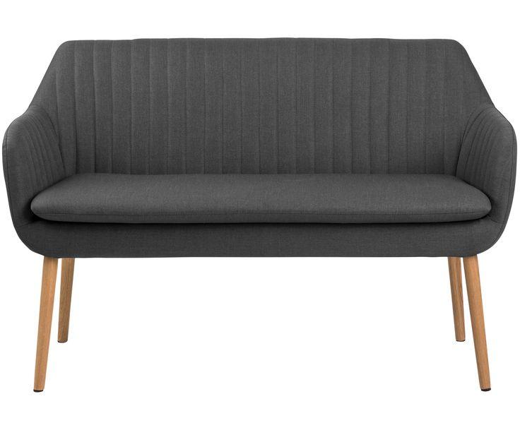 Mit Esszimmerbank Emilia in Grau steht dem perfekten Dinner nichts mehr im Weg. Shoppen Sie weitere tolle Möbel auf >> WestwingNow.