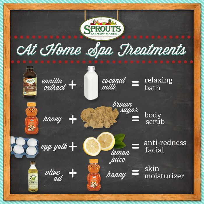 We've all worked hard this #holiday season, so it's time to kick back and relax, using these home-made remedies! #SproutsFM