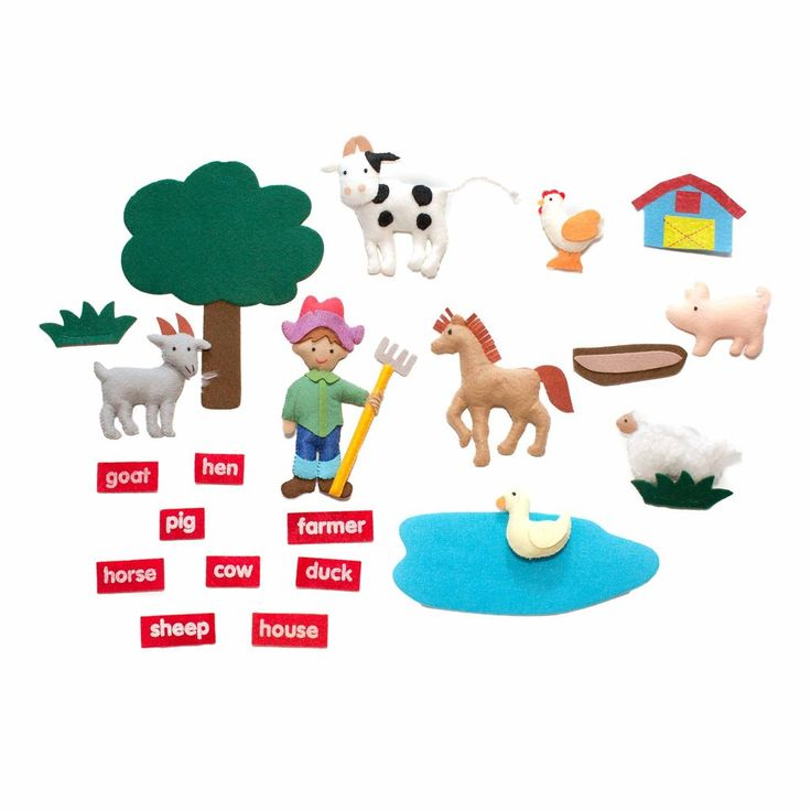 Farm Soft Book with Name Tags