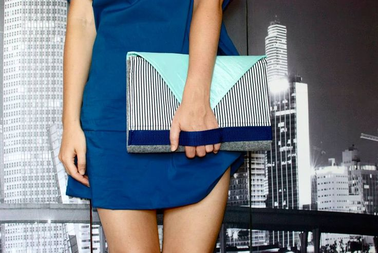 #kopertowka #blue #NotSoSo #bag #Labelsshop #clutch