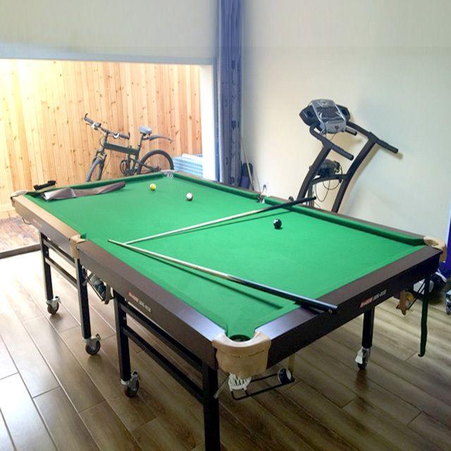 Stylish Folding Pool Table 8ft Wholesale Portable Folding Standard Snooker Tablewheeled Folding Folding Pool Table Pool Table Portable Pool Table