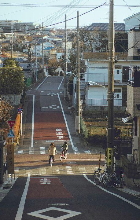 那些小巷- normal japanese street Just Like a Doraemon & Nobita home town