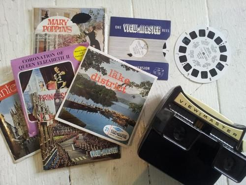 our vintage viewmaster - so cool