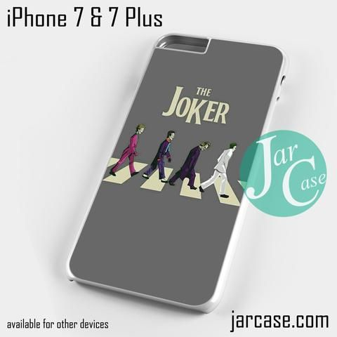 Joker The Bettles Style Phone case for iPhone 7 and 7 Plus