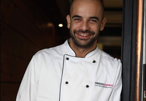 Chef Adriano Zumbo.