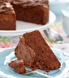 Ruby Red's Chocolate Cake - Ruby Red's Chocolate Cake is lovely and moist and has an intriguing spicy flavour. It's beautiful with a cup of tea!