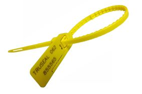 Combi Plastic Security Seal Plastic Strap Tear Away Feature Tool less Removal