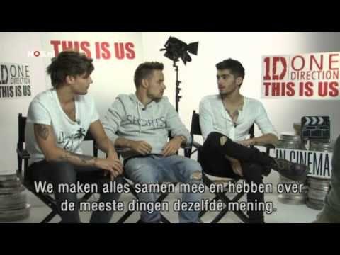 Dutch Interview One Direction This is Us - Achter de schermen bij 1D