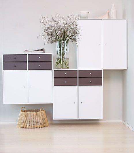 ASh White Andante Pure Nordic style montana shelfs