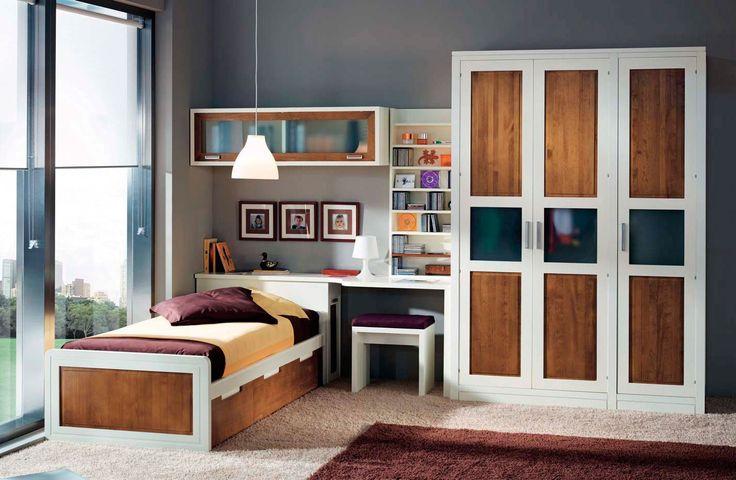 Habitaci n juvenil moderna acaya en mbar muebles - Habitaciones juveniles modernas ...