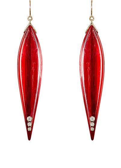 We Adore: The Vesta Drop Earrings from Mark Davis at Barneys New York
