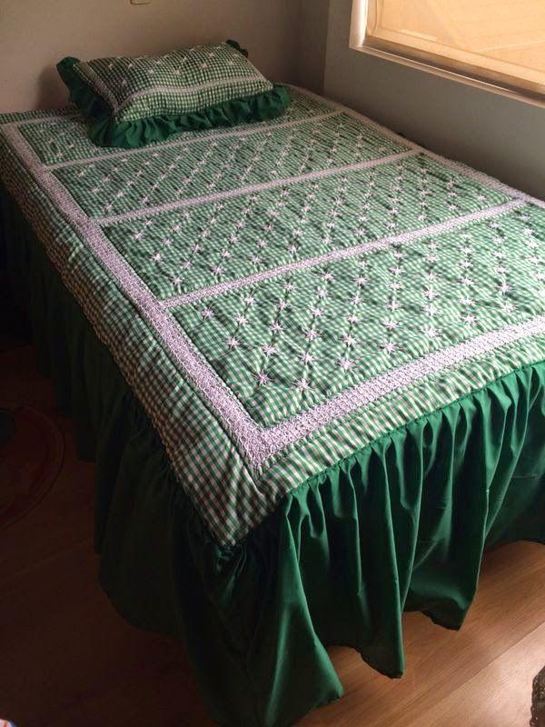 Arte decoraci n manualidad y moda tendidos de cama for Tapetes anudados a mano