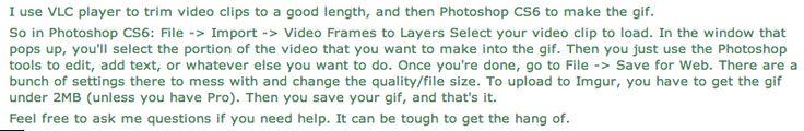 GIF Advice