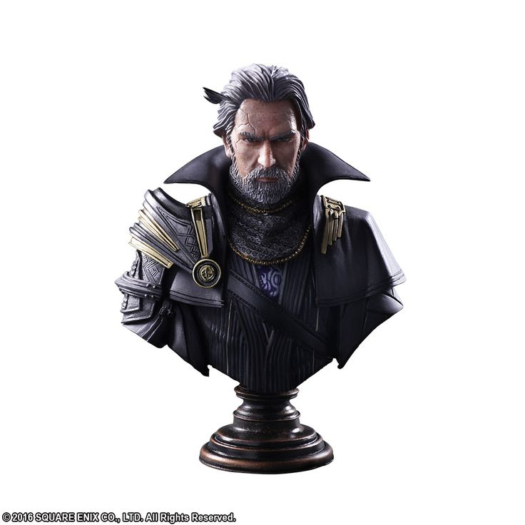 Kingsglaive Final Fantasy XV Static Arts Gallery Bust - King Regis Lucis Caelum @Archonia_US