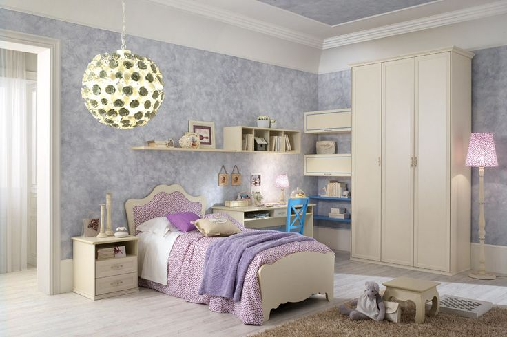 Fairytale style and romantic, just like this line of Spar Romantic bedroom. Elegant lines and classic for little princesses who love to dream with the imagination. http://www.spar.it/sp/it/arredamento/camerette-rom-103.3sp?cts=camerette_romantica