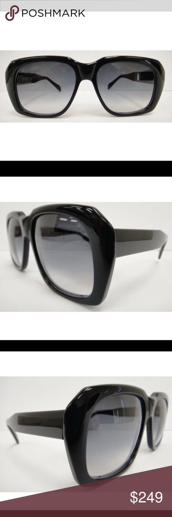 ULTRA GOLIATH II SUNGLASSES BLACK Robert de Niro Genuine, Authentic Brand New ULTRA GOLIATH II SUNGLASSES  FRAME COLOR: GLOSS BLACK WITH GREY GRADIENT LENSES  FRAME SIZE: 62-20-150 MADE IN HOLLAND IT COMES WITH CASE  Originally produced in 1970s. Being sported by actors or musicians such as Darryl McDaniels (also known as DMC) of Run DMC, Michael Caine, and Harry Carey or, more recently, to portray colourful film characters from the 1970s, such as Robert de Niro's Sam 'Ace' Rothstein in…