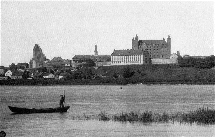 Mewe an der Weichsel-Stadt und Schloss des Deutschen Ritterordens