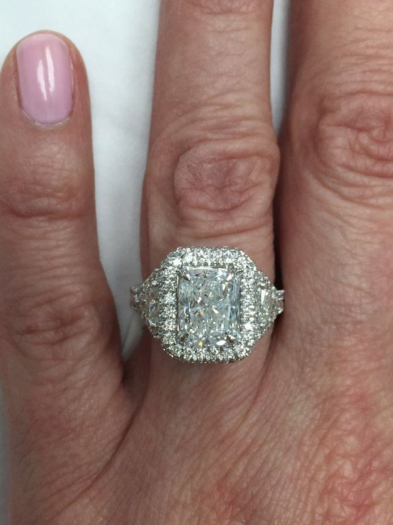 Cut buy    Trillion georgetown retro Ring Engagement Diamond USJewelryFactory jordan by Cushion