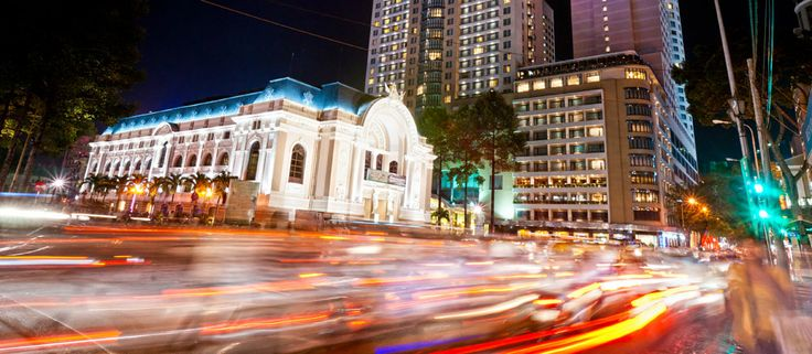 Ho Chi Minh City, formerly named Saigon, is the largest city in Vietnam