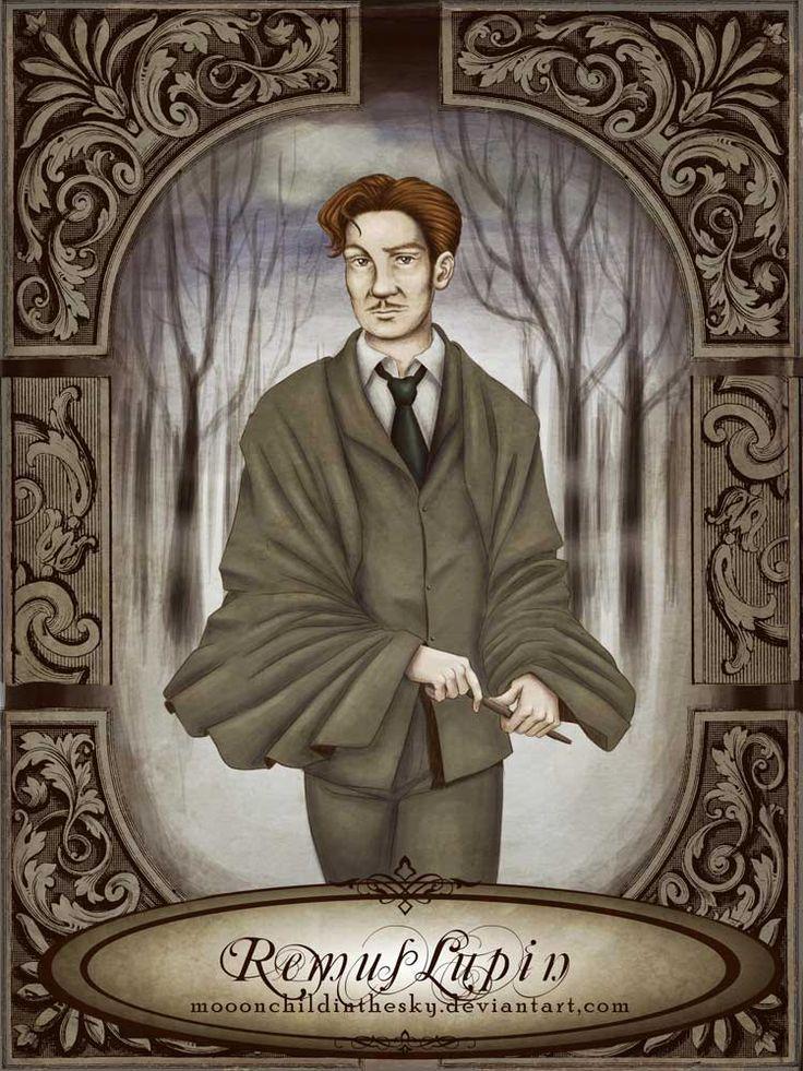 Remus Lupin by moonchildinthesky.deviantart.com on @deviantART
