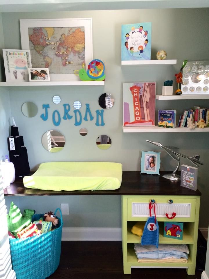 Our Willis Tower Squeezable At Home In A Chicago Themed Baby Nursery.