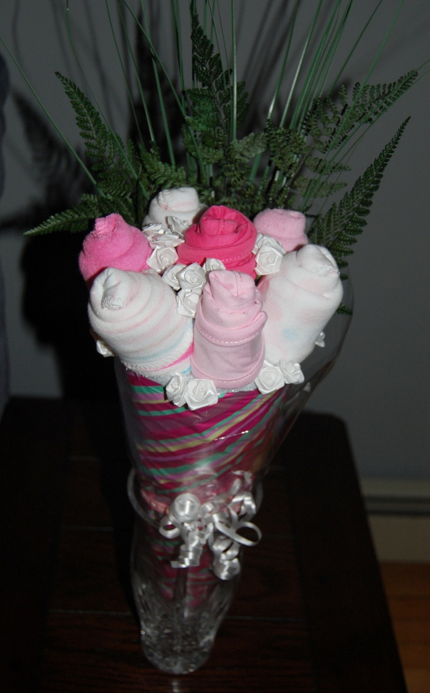 Baby shower onesie bouquet pinterest ideas i found and