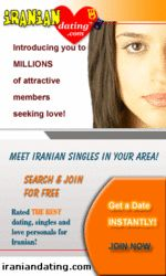IranianDating.com offers millions of photo profiles of men seeking women, women seeking men, men seeking men and women seeking women for friendship, relationship, dating, or love! Includes Muslim singles and Iranian personals. http://www.affbot3.com/link-647376-53417-929-11168?plan=172