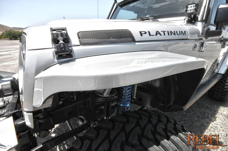 Jeep Wrangler Unlimited For Sale >> Platinum - 2012 Jeep JK 4DR REBELCON - Close up view of ...