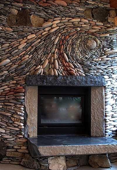 Designed by Andreas Kunert, principal of Ancient Art of Stone in Victoria, British Columbia, Canada.