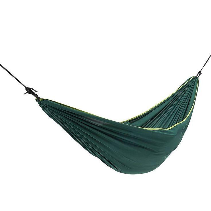 Hamac Une Place Basic 260 X 152 Cm 1 Personne Hamacas Hamaca Para Acampar Catre De Camping