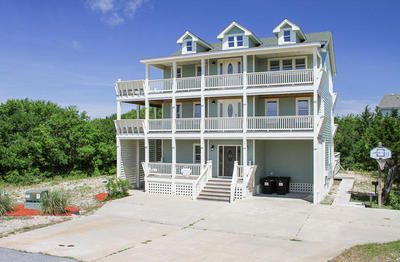 Avon vacation rentals lucky catch soundside outer for Hatteras cabins rentals